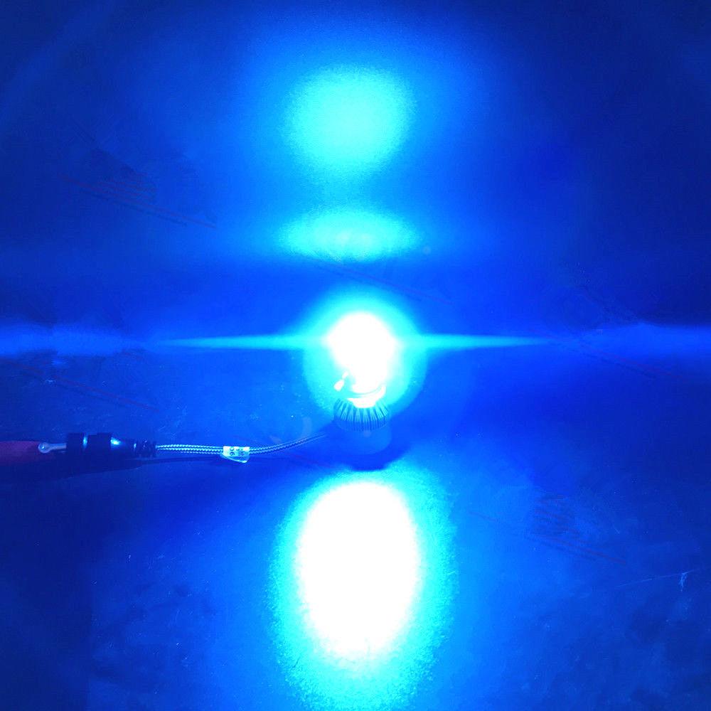 Car & Truck LED Light Bulbs 4x Combo Ice Blue LED Headlight 9006 9005 for Chevy Silverado1500/2500 HD 01-07