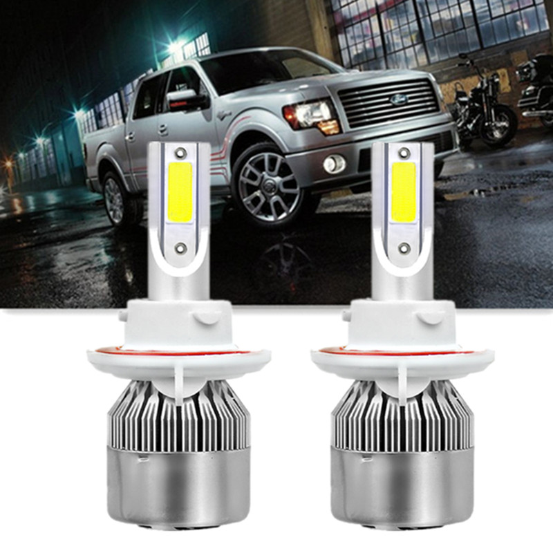 Details About H13 Led Headlight Bulbs For Ford F 250 F 350 Super Duty 05 19 F 150 04 14