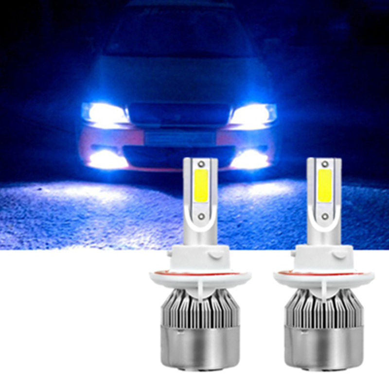 Details About H13 9008 Led Headlight Bulb Kit Lamp Bulbs Hi Lo For Ford F150 F250 F350