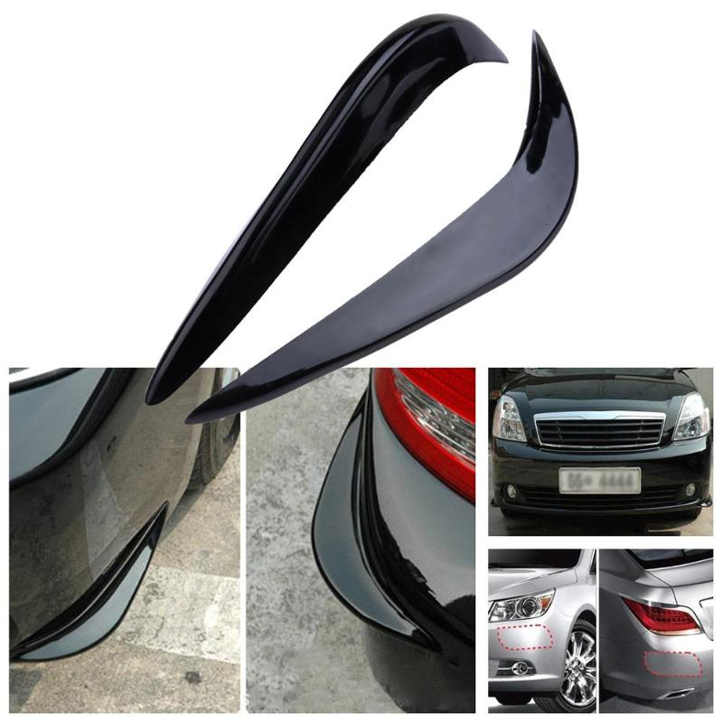 2x Accessories Car Front Rear Bumper Corner Protector Stickers Guards Universal