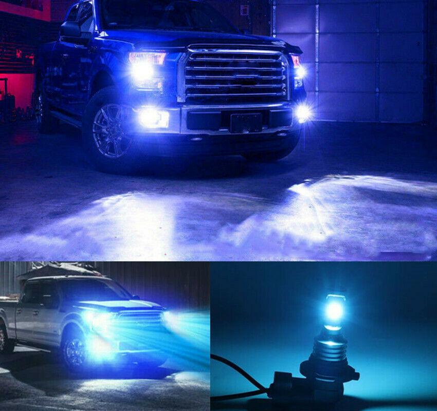 For 1999-2006 Chevrolet Silverado 1500  Car LED Headlights Bulbs 9005 9006 Kit