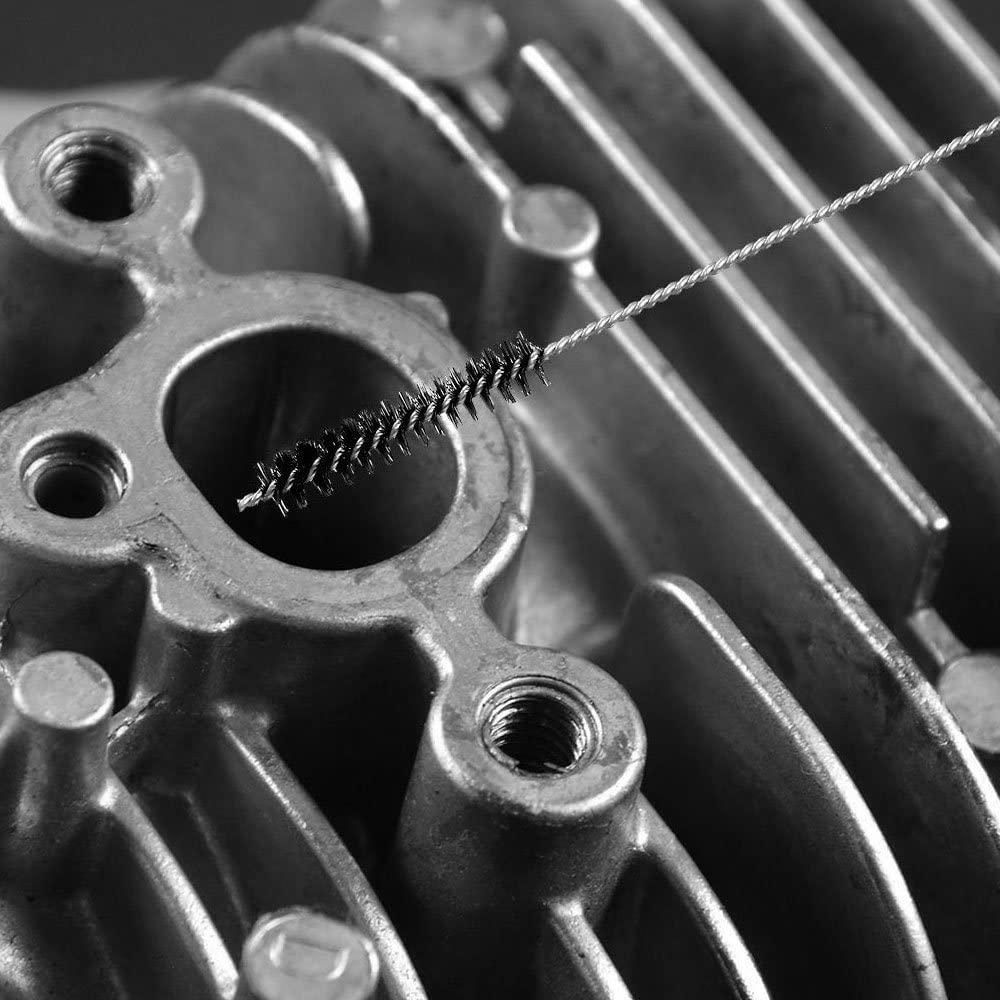 18pcs Motorcycle Clean Tools Carburetor Carbon Dirt Jet Remove Cleaning Set