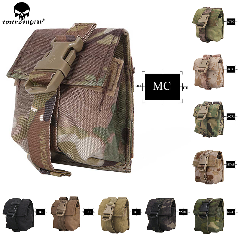 Emerson LBT Style Grenade Pouch Multi-Purpose Single Frag Tactical Kit Bag MOLLE