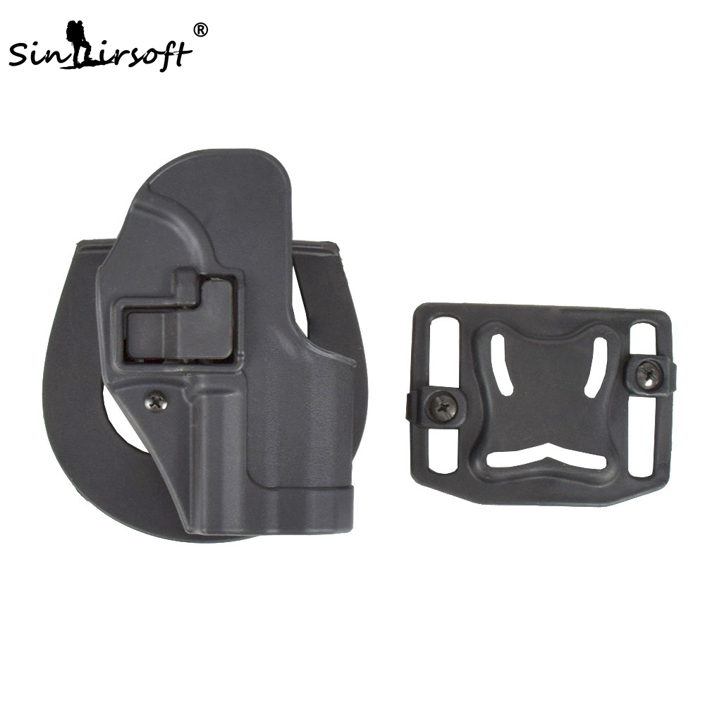 Tactical CQC Serpa Concealment Right Hand Waist Pistol Holster for USP Compact
