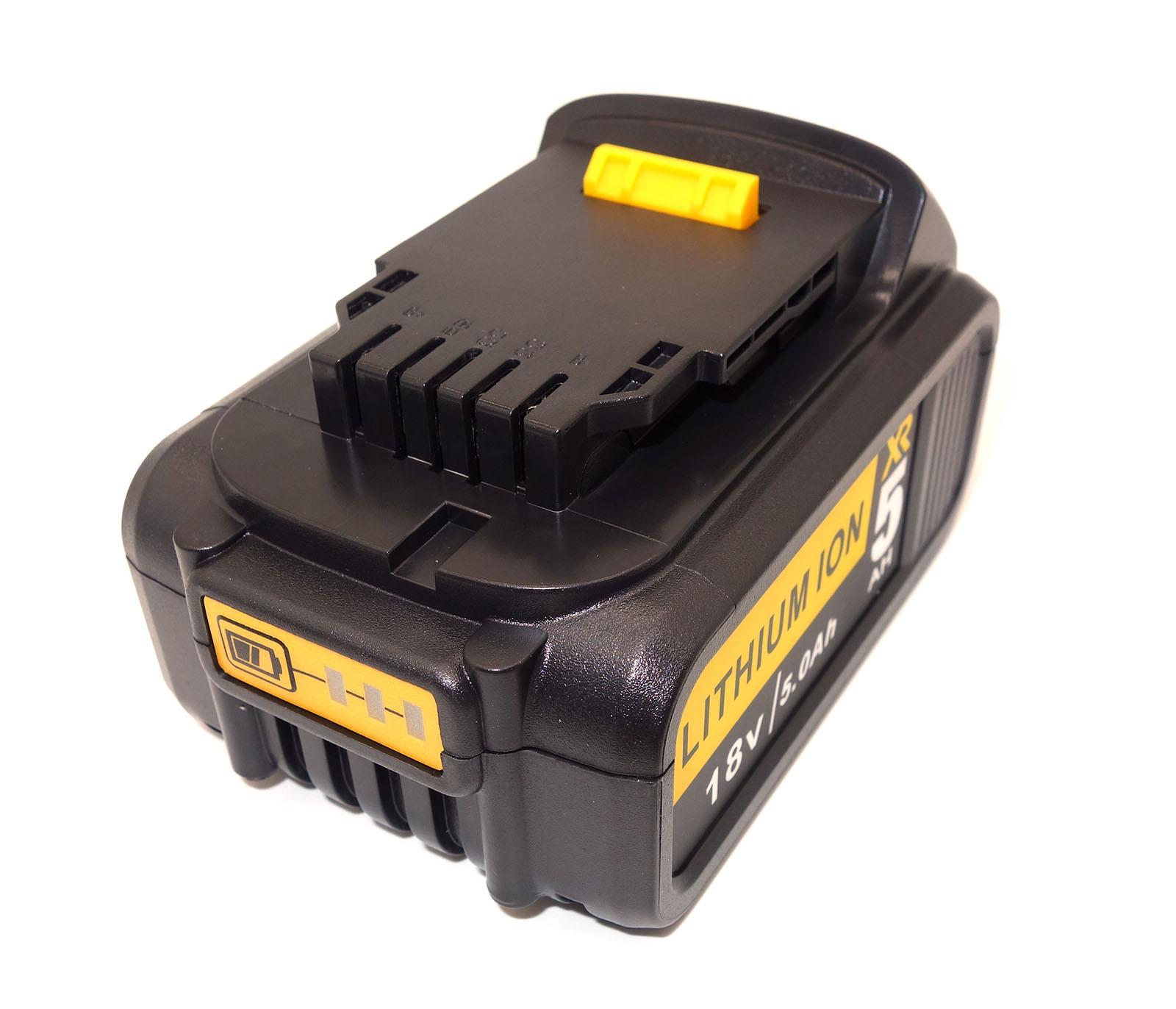 For Dewalt Dcb184 18v 5 0ah Li Ion Xr Slide Battery Dcd985