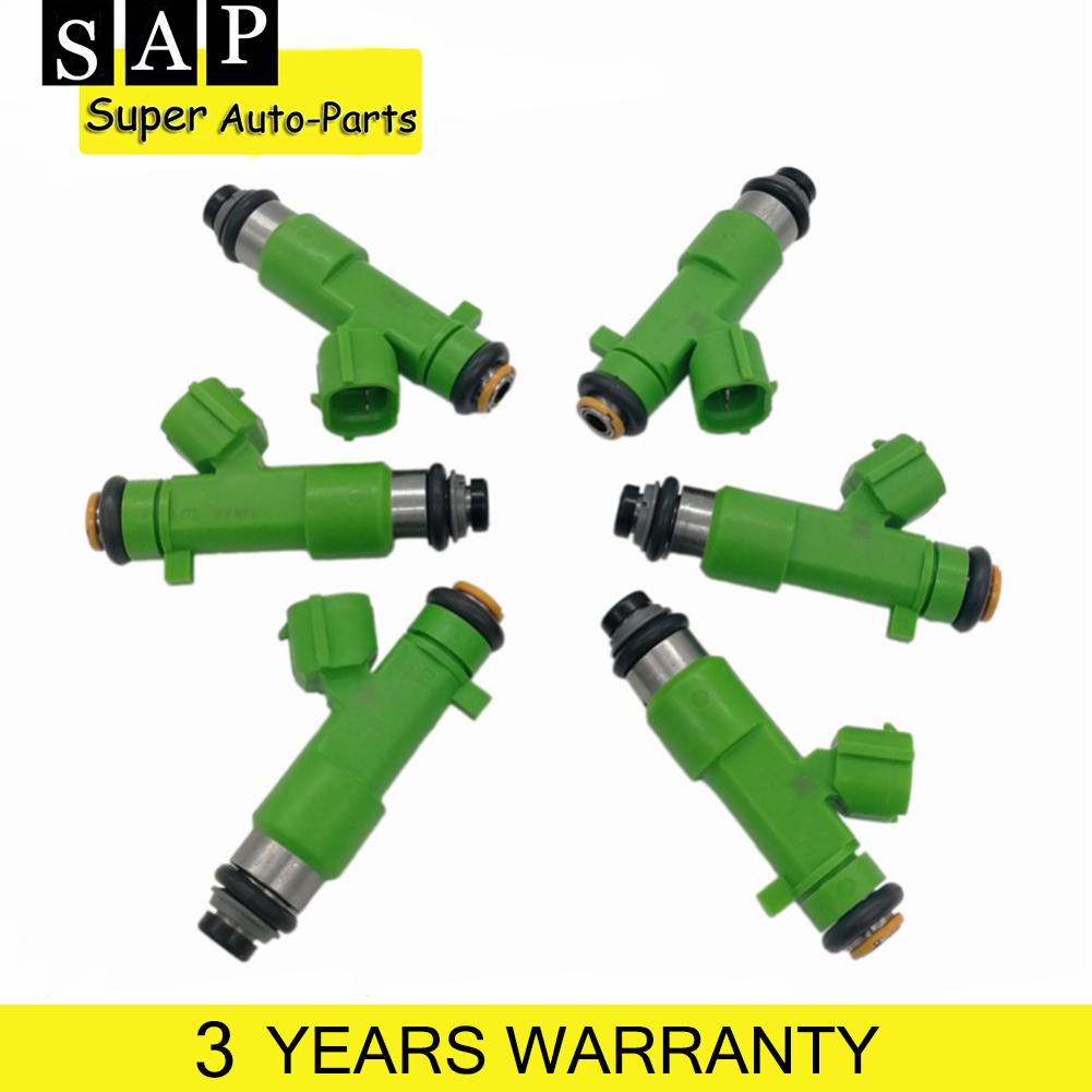 6X OEM Fuel Injectors For Infiniti EX35 FX35 G35 JX35 M35 QX60 Nissan 350z