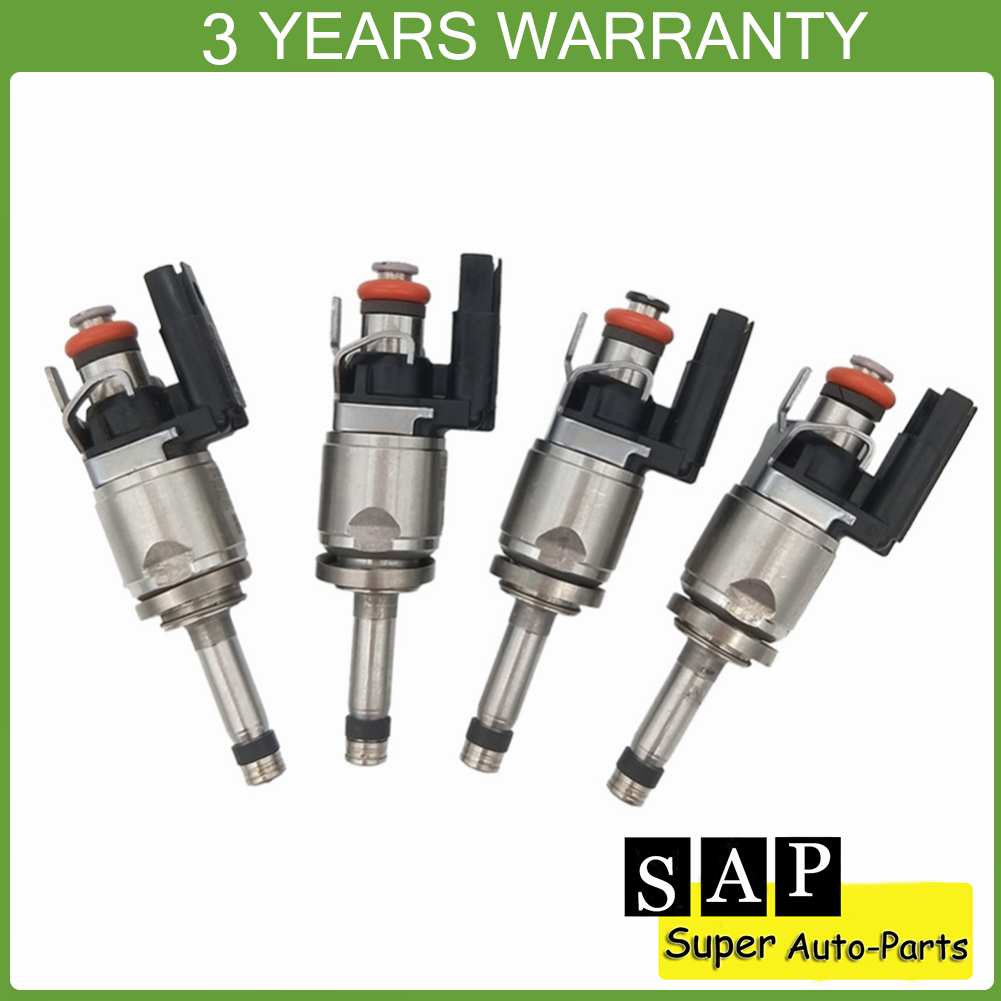 4x High quality Fuel Injector 31303495 For 2014-2015 Volvo S60 S80 V60 V70 XC60