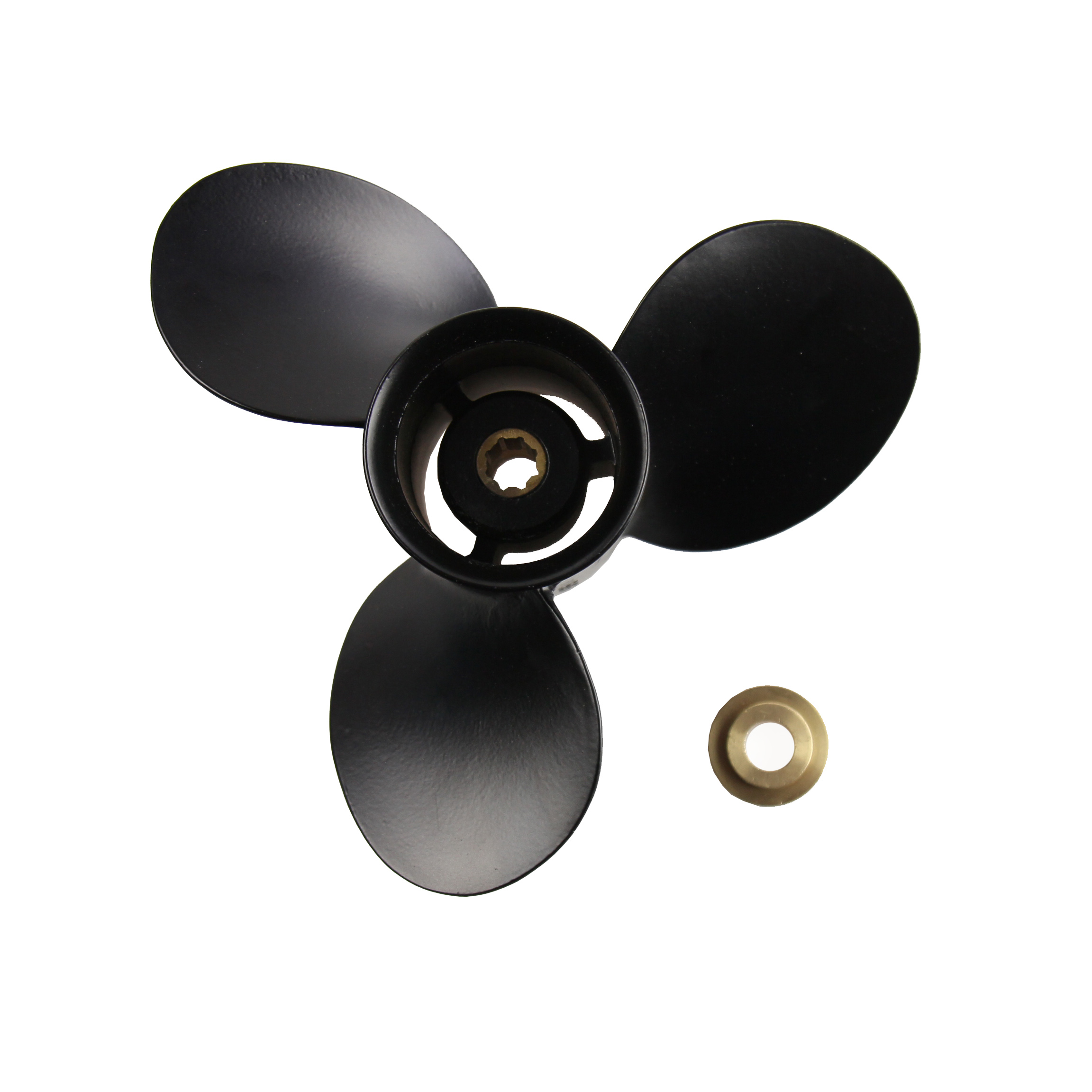 Aluminum Outboard Propeller 9X9 for Mercury 6-15HP 48-828156A12