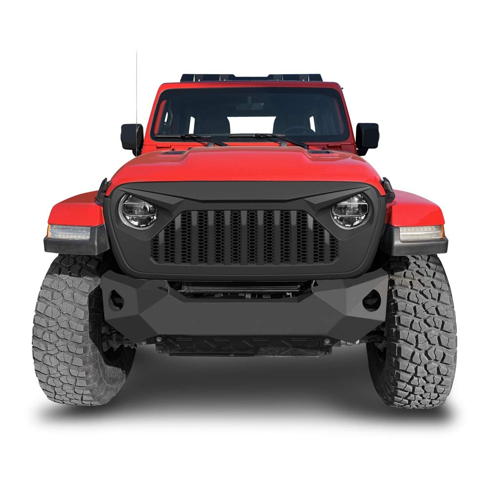 Front Bumper Grille Upper Grill For 2018 2019 JEEP