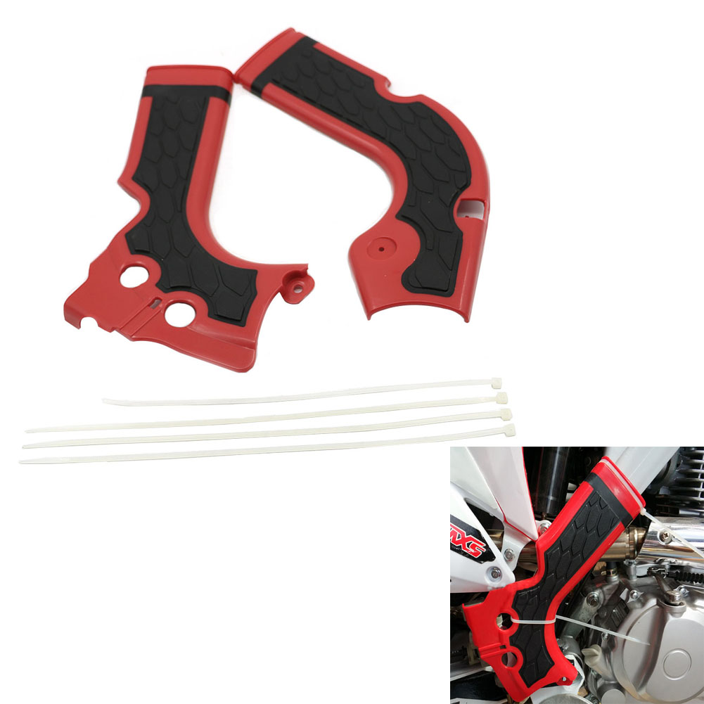 Acerbis X-Grip Frame Guards White//Black for Honda CRF450R 2013-2016