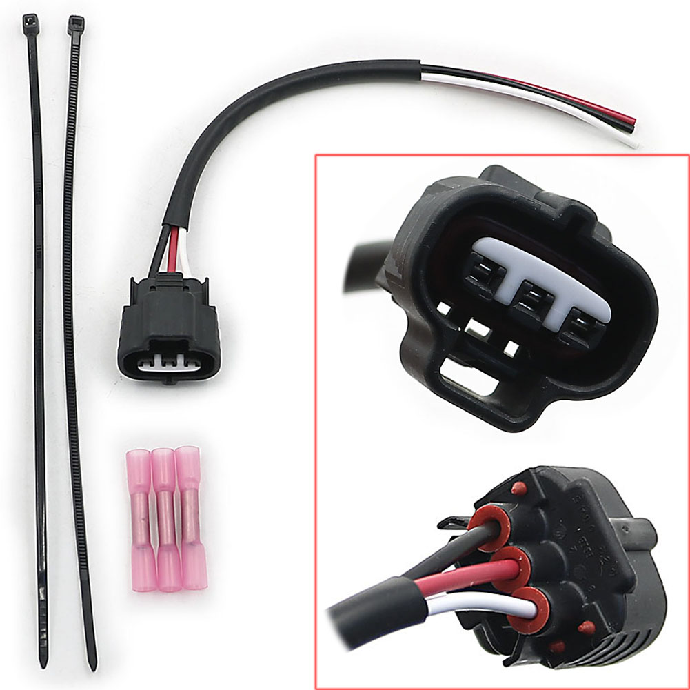 Throttle Position Sensor Wire Harness Plug with Butt Connector Fit for Polaris