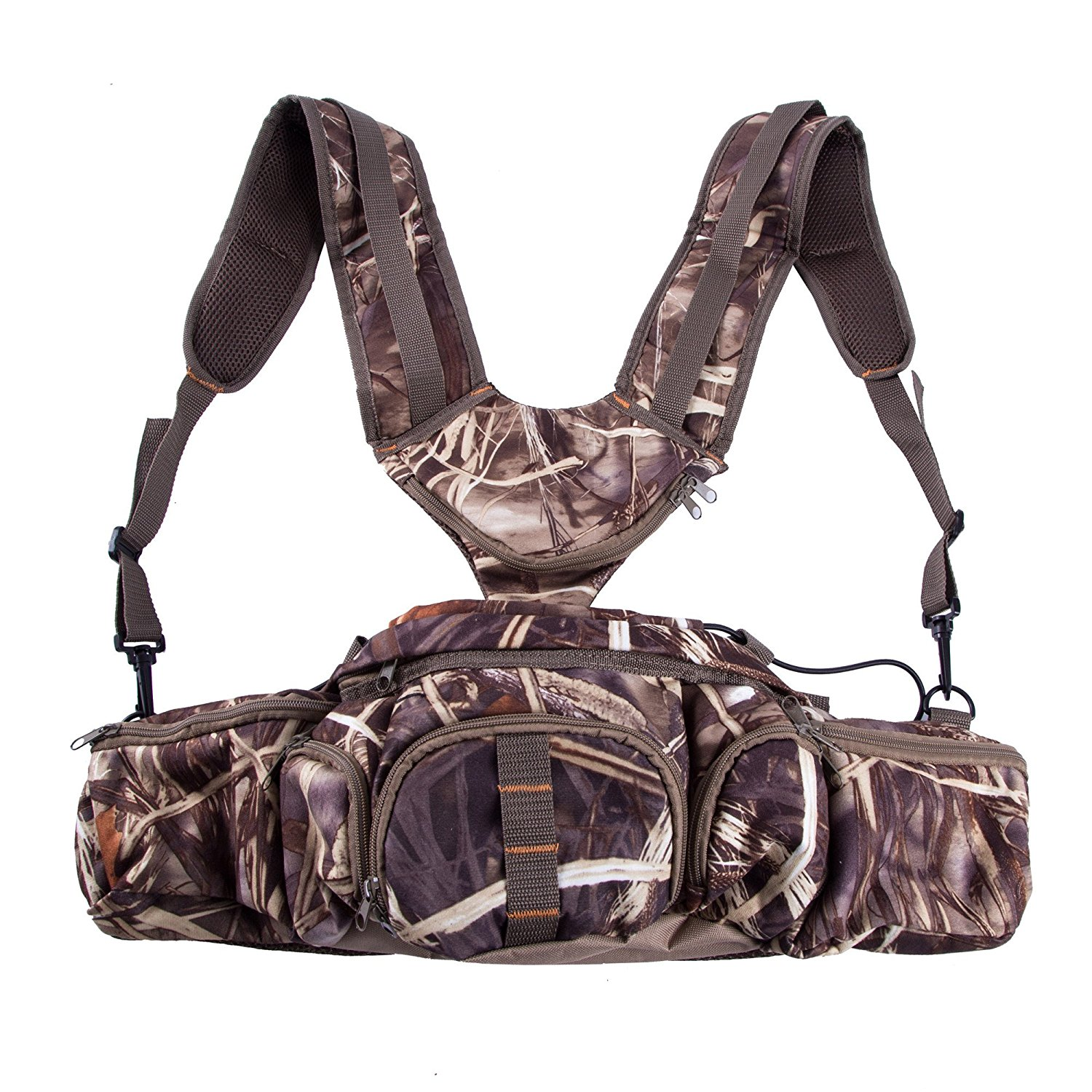 Hunting Camo Pack Harness Waist Pack Pouch Shoulder Strap ...