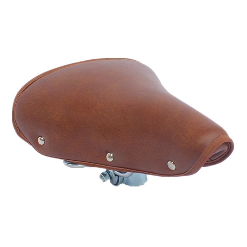 Brown Bike Helmet Vintage Retro Leather Classic Bicycle Cycling