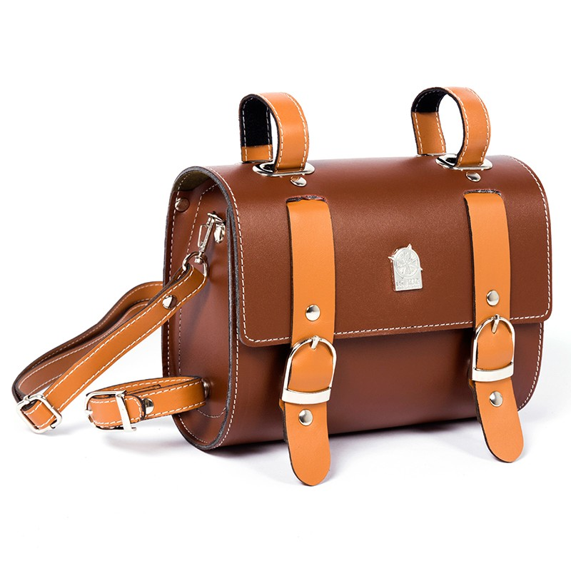 Retro Vintage Bicycle Bike Bag Faux Leather Tool Seats Bags Photography Props