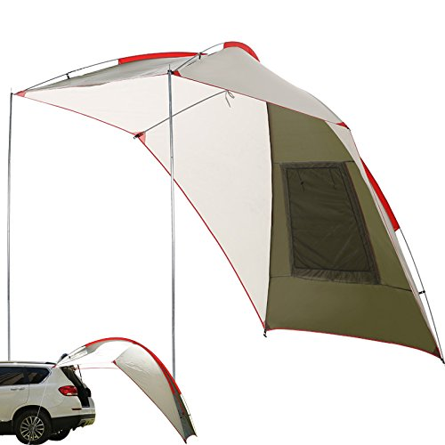 Trailer and Overlanding Light Weight Truck Canopy Durable Tear Resistant Tarp Onlyonehere Teardrop Awning for SUV Car Camping