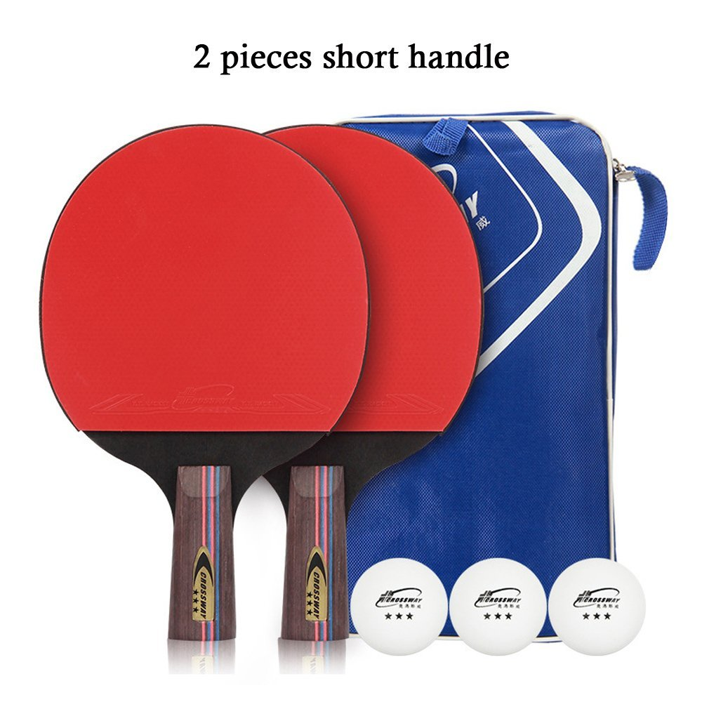 Ping Pong Bat Paddle Protective Holder Pouch Bag Black Table Tennis Racket