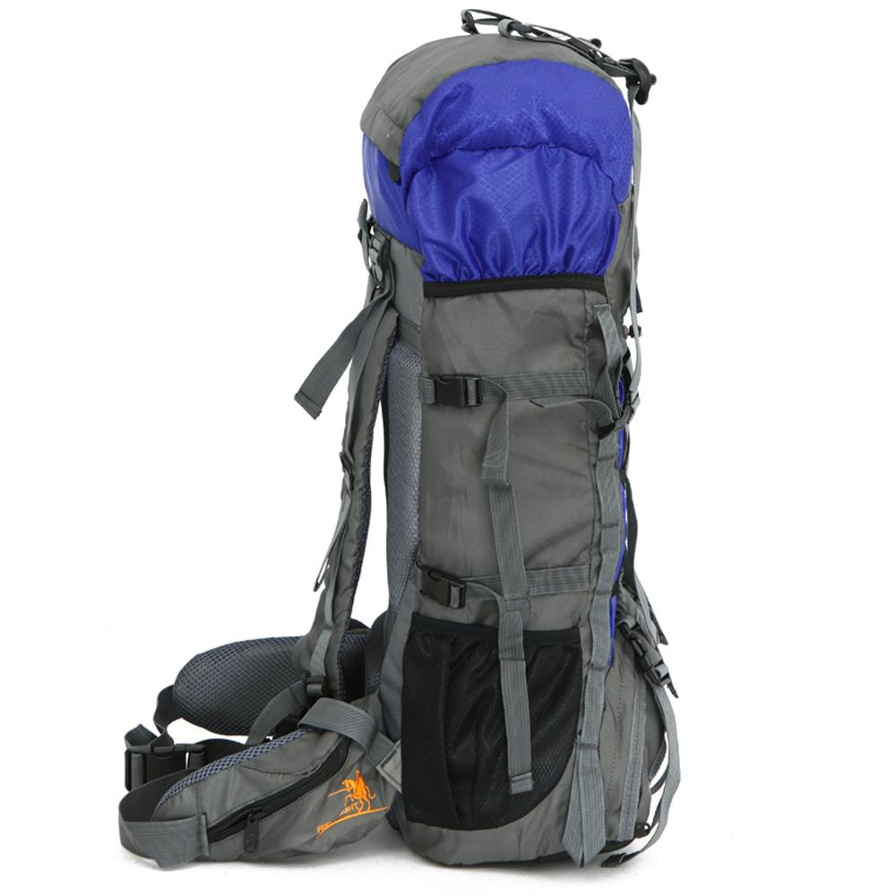 60L Nylon Waterproof Outdoor Camping Hiking Bag Backpack Rucksack Travel  Daypack d42ecd44efec8