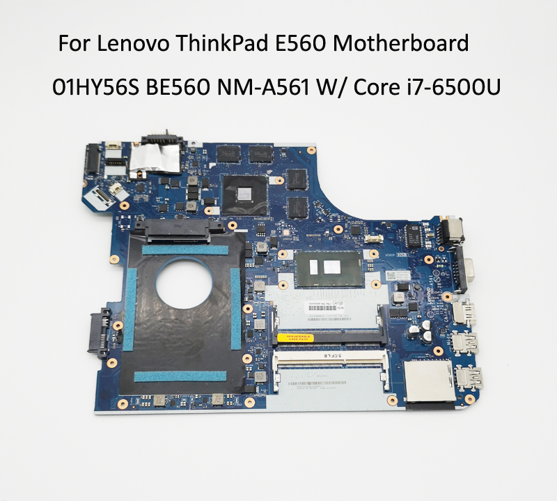 New original Lenovo ThinkPad E560 Motherboard 01HY635 BE560