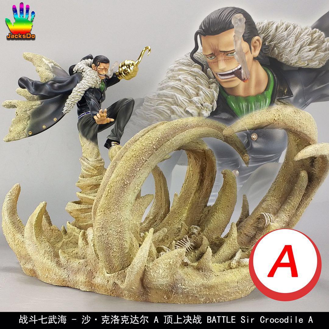 2019 One Piece Jacksdo Studio Sir Crocodile Resin Gk Collector Statue Cool Ebay
