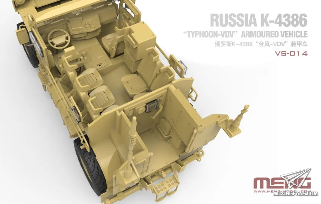 MENG VS-014 scale 1//35 RUSSIAN K-4386 TYPHOON-VDV ARMORED VEHICLE 2020 new