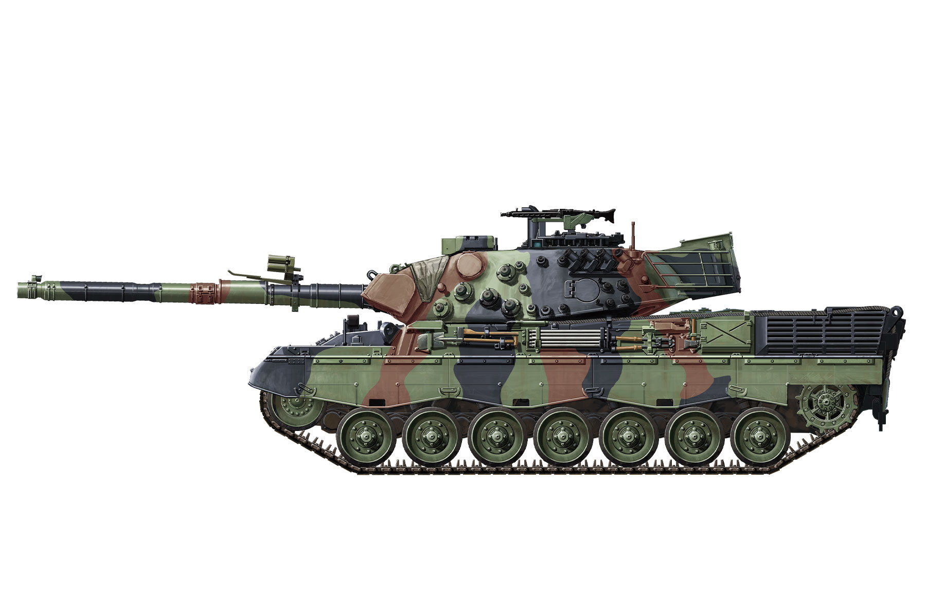 Meng-TS-015-Model-1-35-German-MBT-Leopard-1A5-NEW-Models-Armour-Hot thumbnail 4