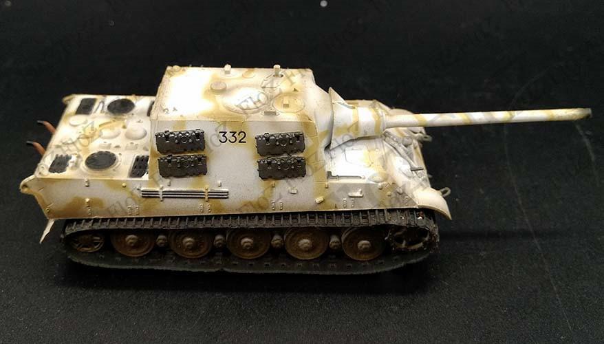Easy Model 36109 caza tiger Henschel s.pz.jag.abt.653 en 1:72 nuevo