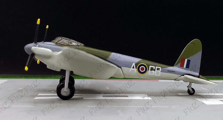 atlas RAF Listo modelo de Havilland dh-98 Mosquito Mk metal IV 1:144 nuevo