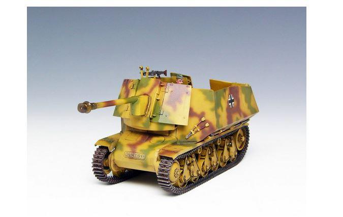 E135 Preiser Military H0 16535 Bausatz Panzerabwehrkanone 7,5 cm PAK 40
