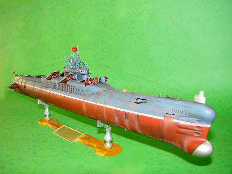 Trumpeter 1//144 Chinese Type 33G Submarine Warship Dunker Battleship 05902 Model