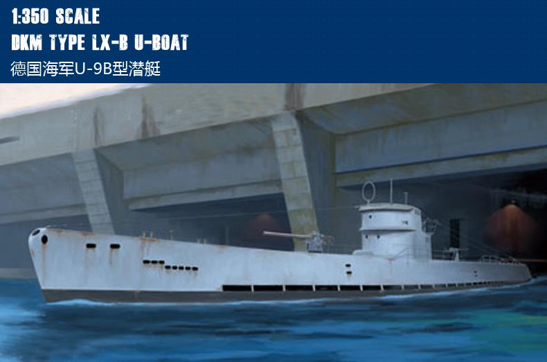 HobbyBoss 1//350 83508 DKM Navy Type lX-C U-Boat Model Kit Hobby Boss