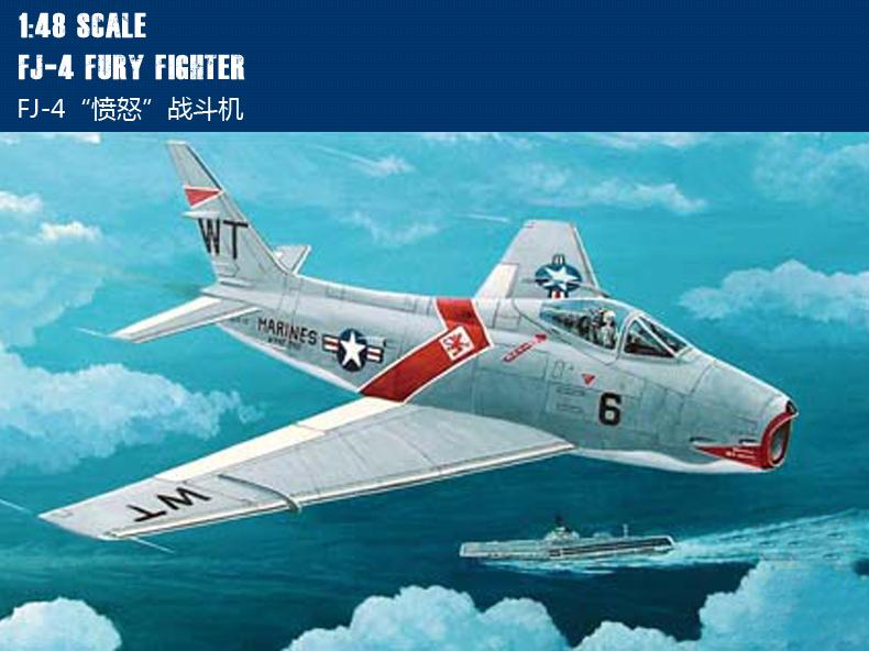 Hobby Boss 80313 FJ-4B Fury in 1:48