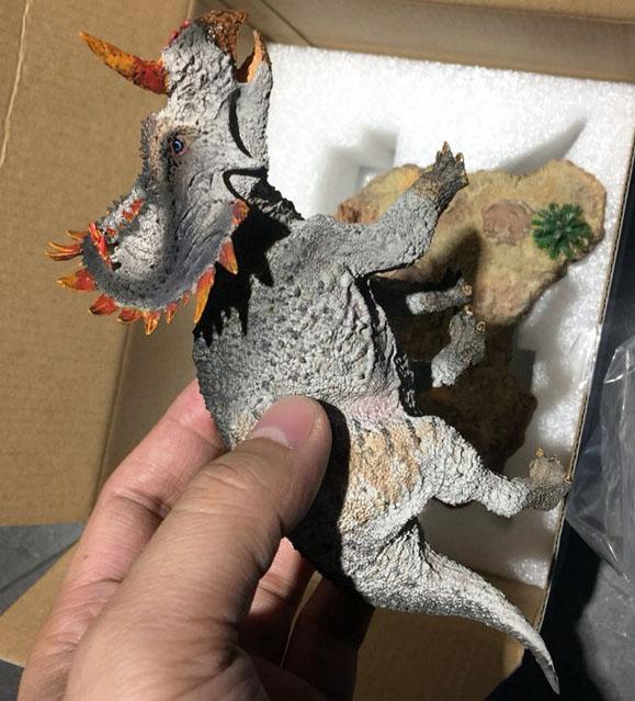 1//35 Figura sinoceratops zhuchengensis Dinosauri FIGURA RESINA MODELLO Vitae