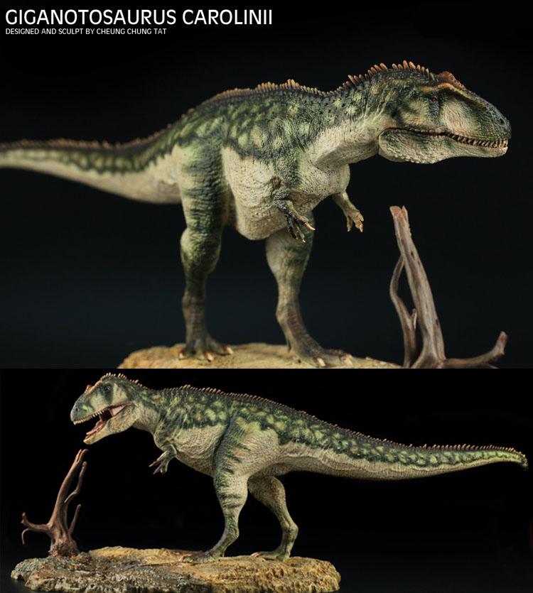 Giganotosaurus Carolinii Dinosaurs Resin Figure 1/35