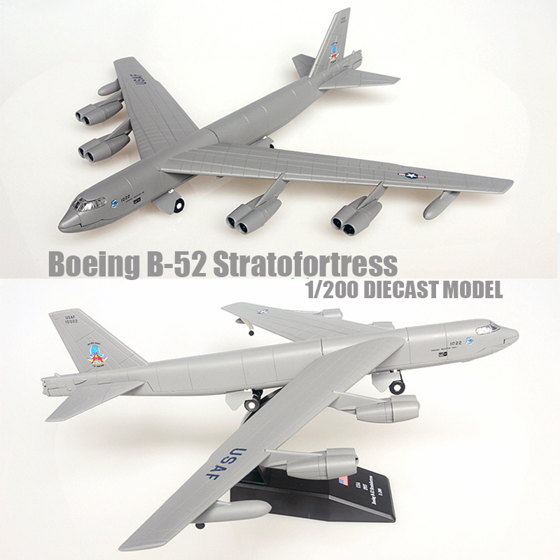 Boeing B 52 Stratofortress Of The U S Air Force History: Boeing B-52 Stratofortress 1/200 Diecast Plane Model