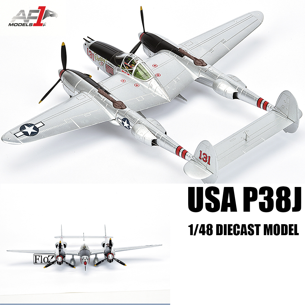 Details About Wwii Usa P38 Lighting 1 48 Cast Plane Model Aircraft Af1 Lockheed Martin