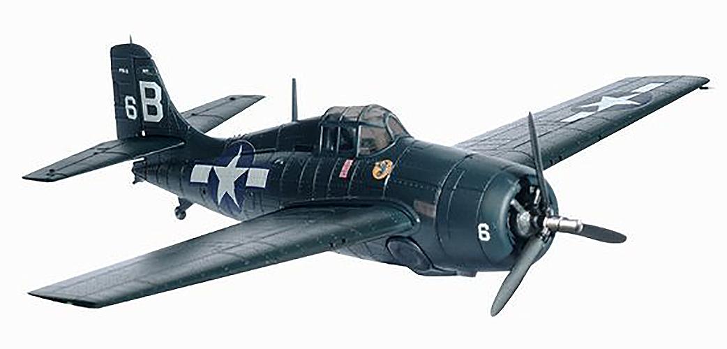 Dragon Grumman F4F Wildcat USN VC-10 Mah 1/72 diecast plane model