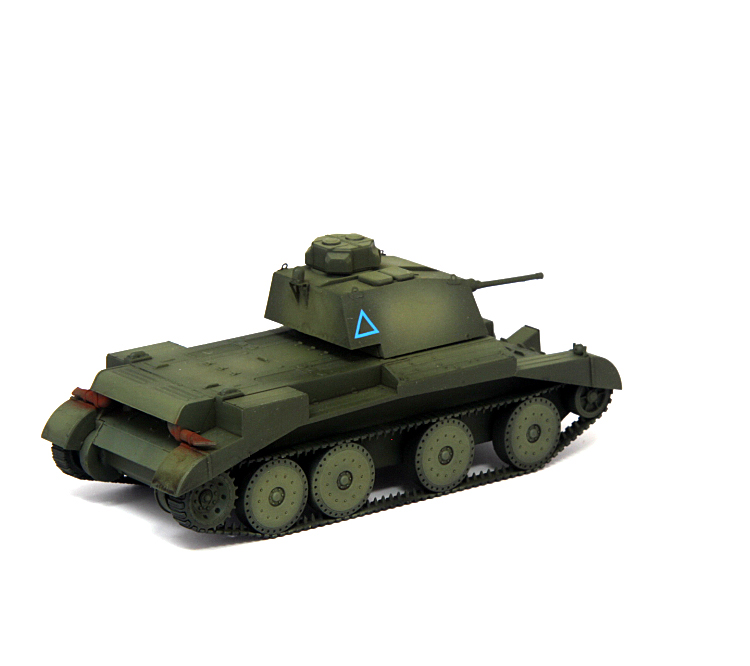 S-MODEL British A13 Mk.1 Cruiser Army Green PE DETAIL 1//72 FINISHED MODEL TANK
