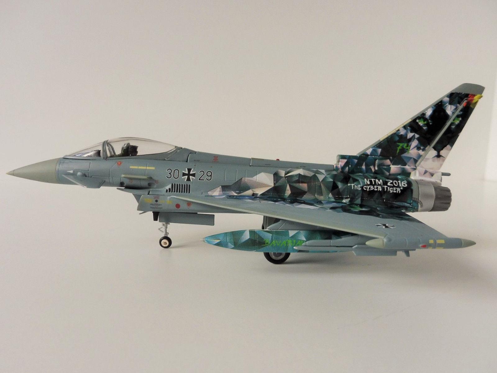 Neu Italeri 1340-1//72 Eurofighter Ef 2000 Typhoon IIb