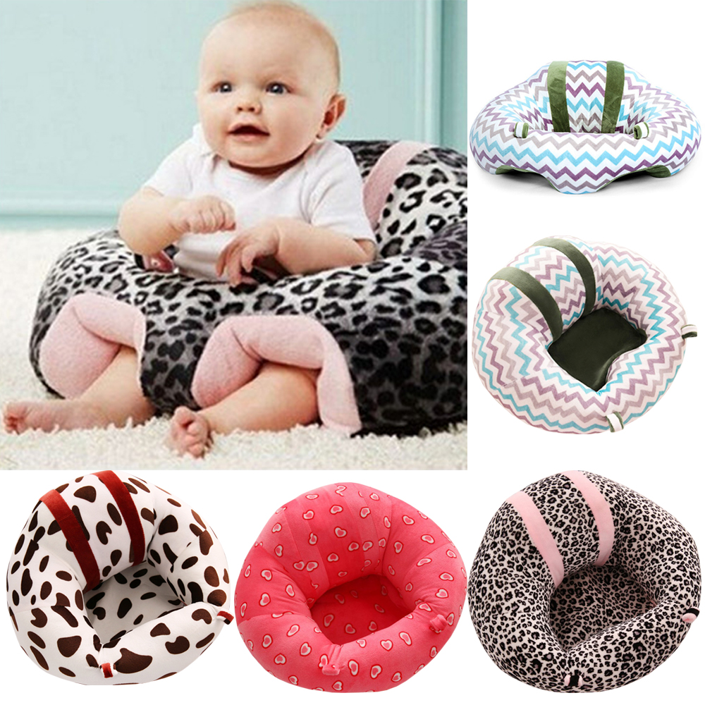 Kids Baby Support Seat Sit Up Soft Chair Cushion Sofa Plush Pillow Toy Bean Bag Complete In Specifications Baby