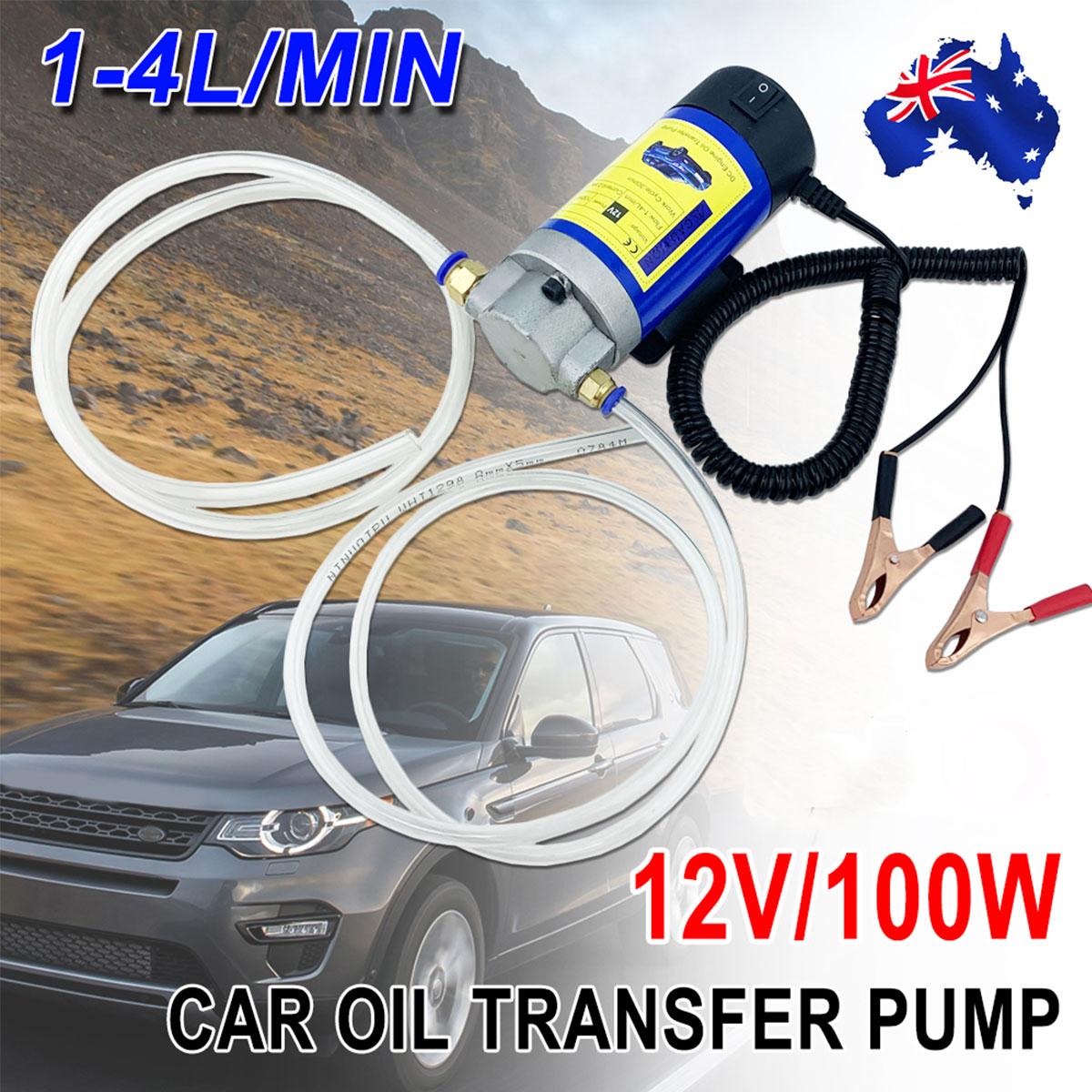 Portable Car Manual Hand Siphon Pump Hose Gas Oil Transfer Pump Plastic GQ