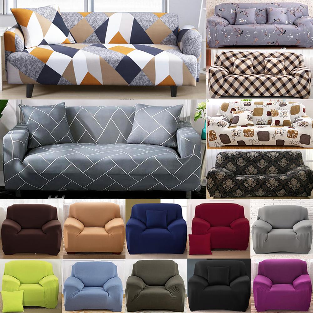 Stretch Elastic Fabric Settee