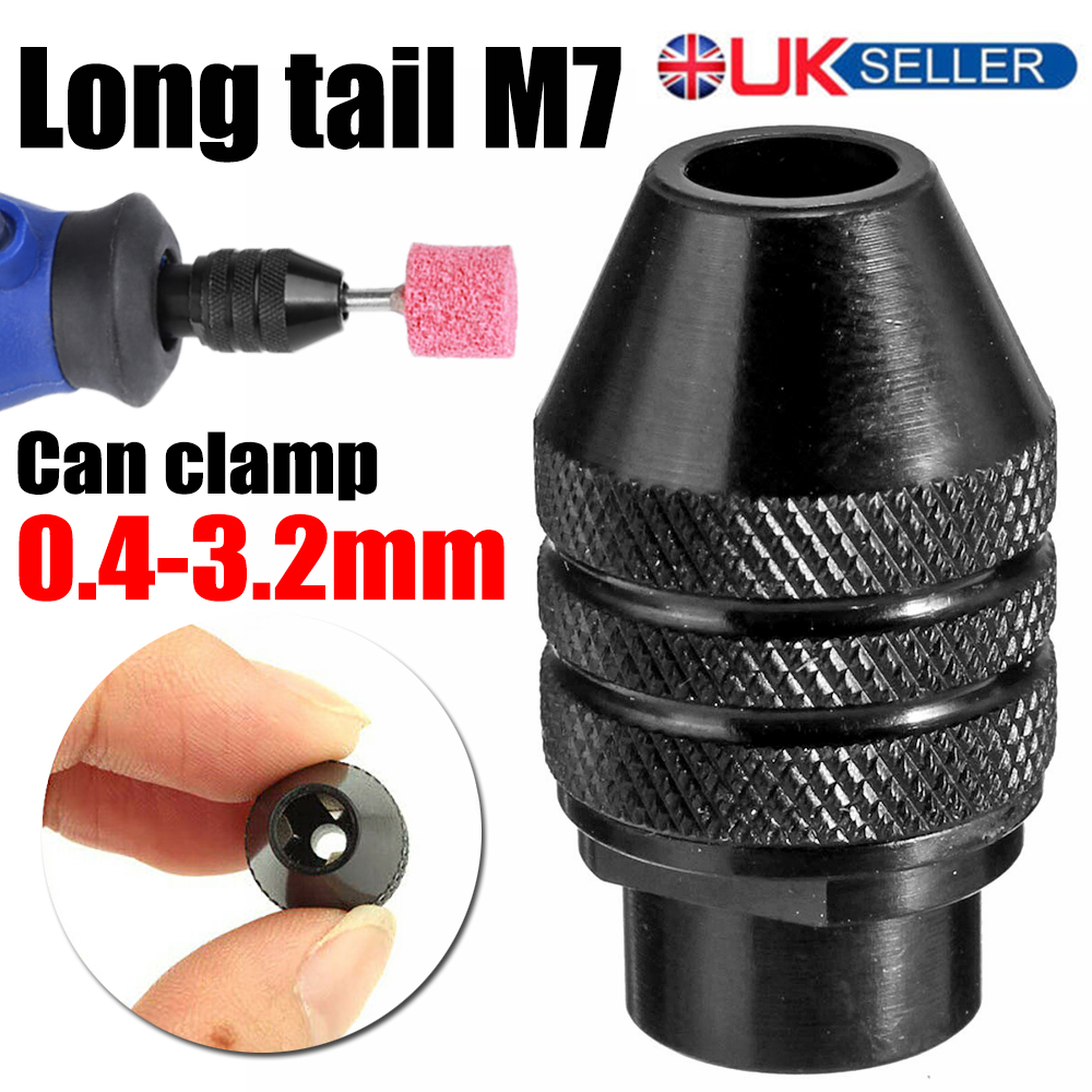 Multi Chuck Quick Change Adapter Drill Bit For Dremel Rotary Accessories Kit