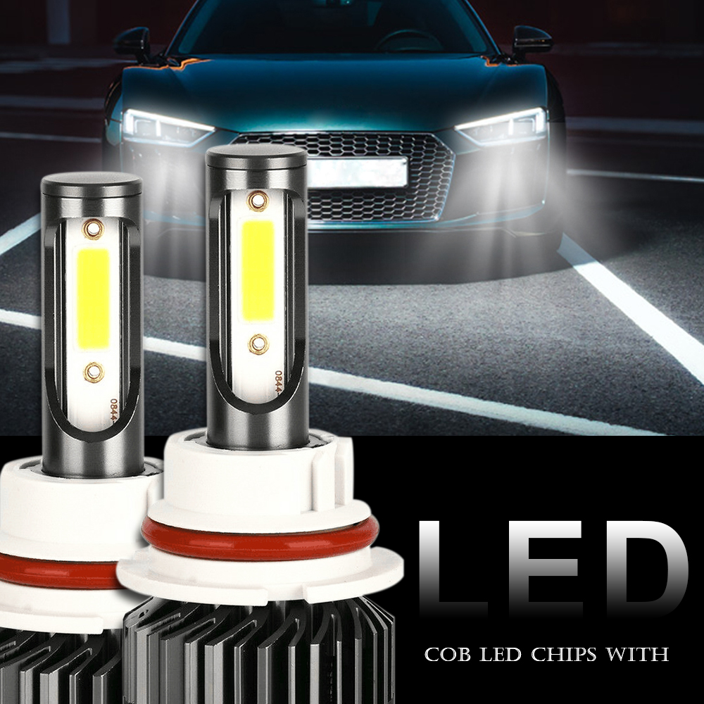 LED Headlight Kit 8000K Ice Blue Hi//Low Bulbs 12000LM 72w for HONDA CIVIC 92-03