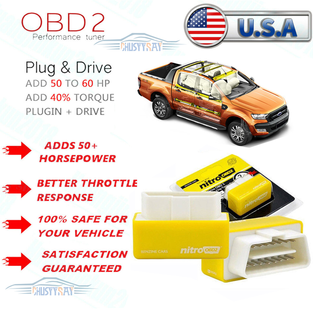 ALL CHEVY GAS MODELS 1996-2018 OBD2 PERFORMANCE POWER CHIP--SAVE FUEL ECU TUNER