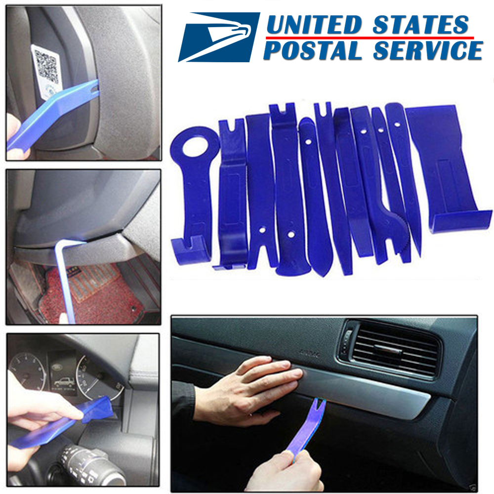 All KIA CARs Stereo Dashboard Plastic Trim Panel Install//Removal Pry Tool Kit