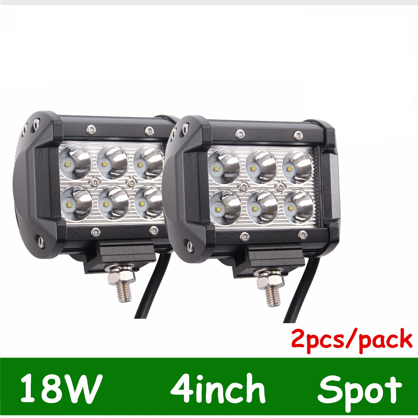 Set of 2 Marine Spreader light LED Deck//Mast light for boat 18W 12v-30v DC