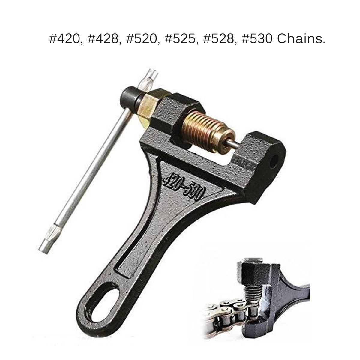 Motorcycle ATV Chain Splitter Cutter Breaker Tool for #420 428 520 525 528 530