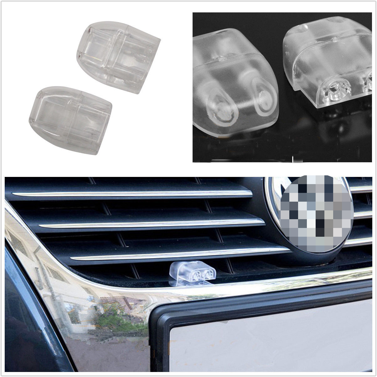 Save A Deer Whistle 2 Pack Deer Warning Whistle Device for Car The Smallest Mode with Upgraded Acrylic Double-Sided Tape