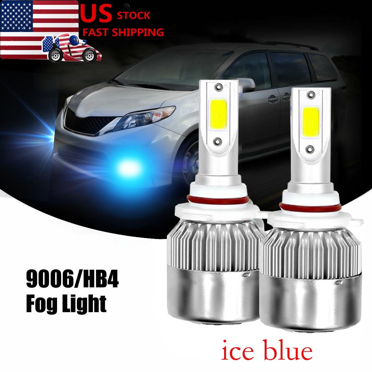 2x NEW 100W 8000K LED Fog Lights for Toyota 4Runner /& Corolla 2006 2007 2008