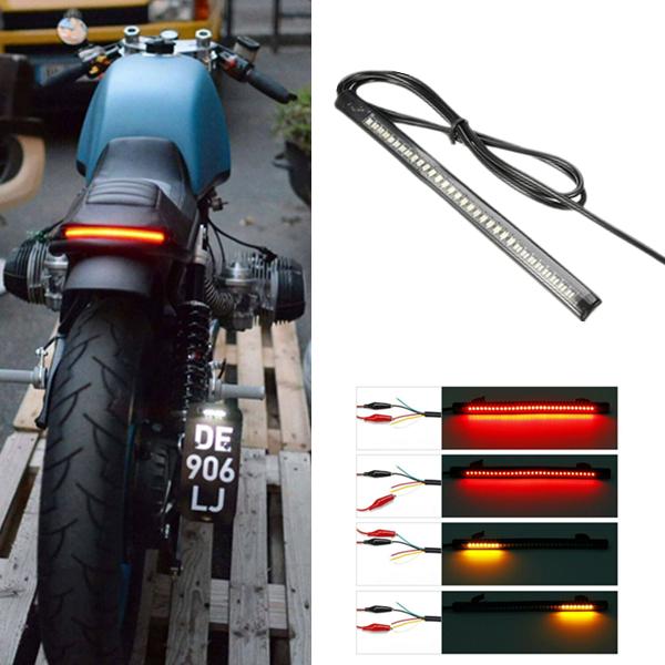 33-SMD LED Bar Brake Tail Light /& Left//Right Turn Signal Lamp for Ducati Moto
